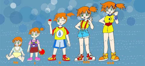 Misty age chart my cannon by Animedalek1