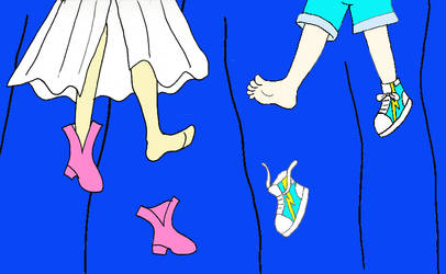 Nunnally and Emilys fancy footwork