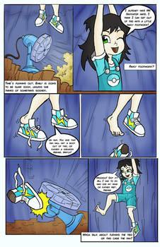 Emily's fancy footwork
