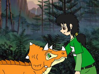 Josh and teenage Cera by Animedalek1