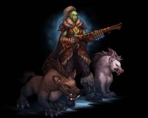 Fullbody Art for Huntress Xarria