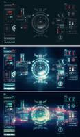 Prototype Space Age UI