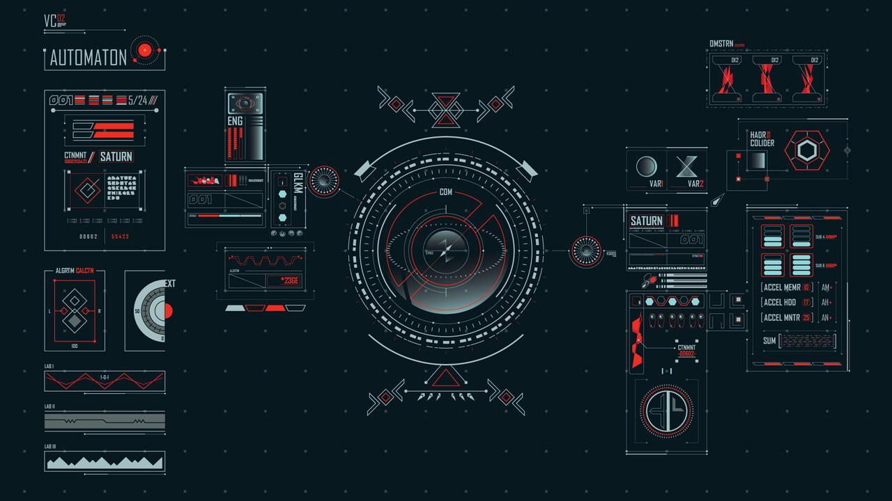 Space Age UI - Pure HUD by ben-aji