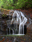 Karekare small waterfall