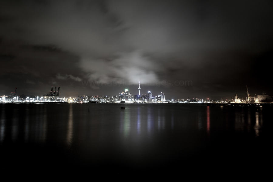 Washed out city... by asylumimages