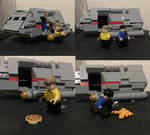 LEGO Kirk and Spock (With Shuttle!) by Nosspott