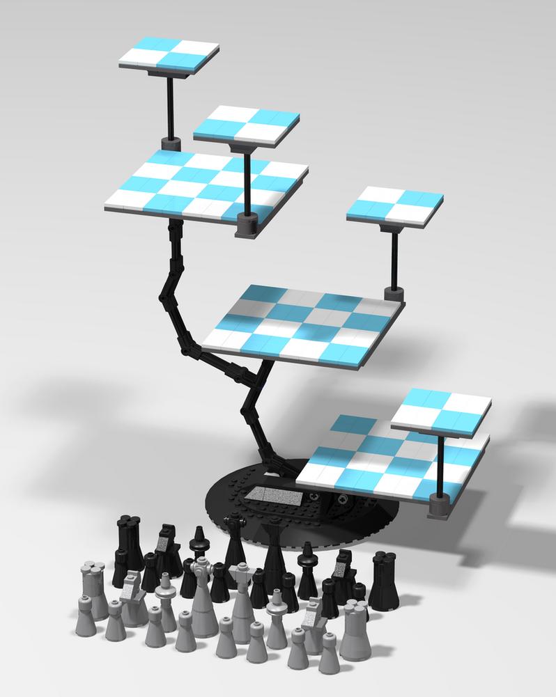 Nosspott nosspott deviantart - Tri dimensional chess ...