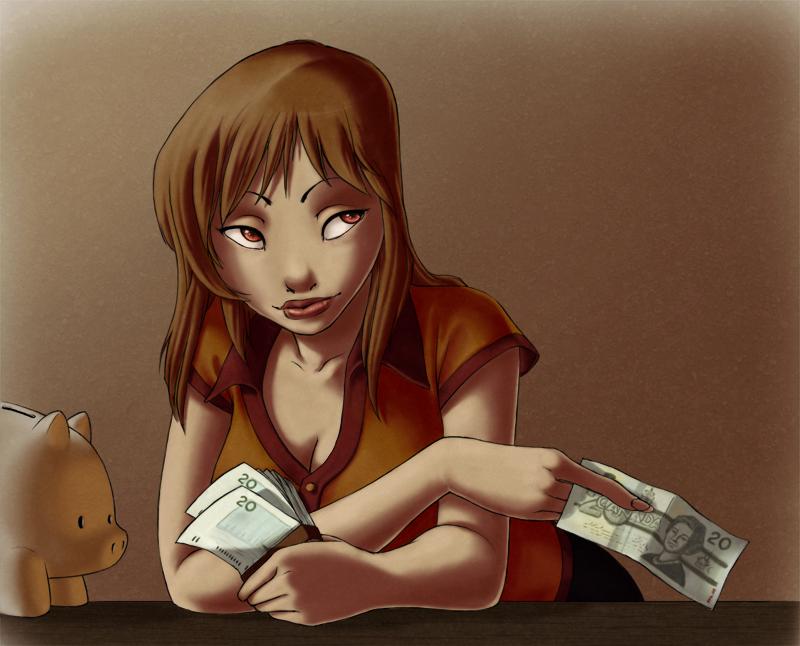 Money by lilbeaver