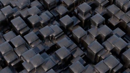 Cube Field by TonyKGFX
