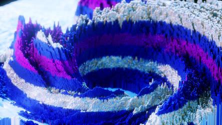 Blue Mesh Wallpaper by TonyKGFX