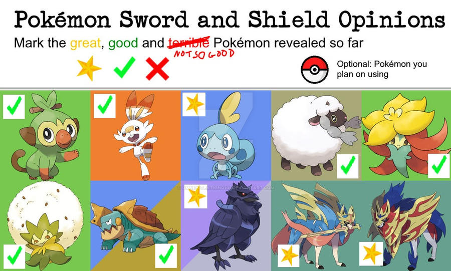 Pokemon Sword And Shield Opinion Meme By Omnipotentking103 On Deviantart