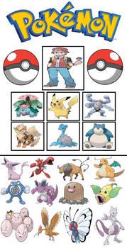 Pokemon Omniverse: Red's team