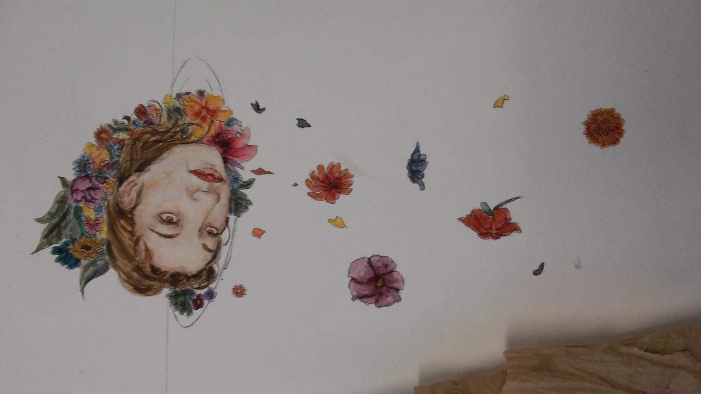 flower girl by japanxengland
