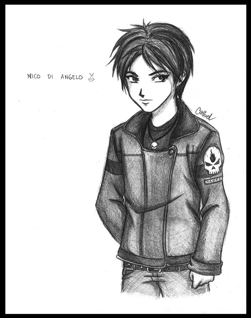 Nico di Angelo by germanmissiles on DeviantArt
