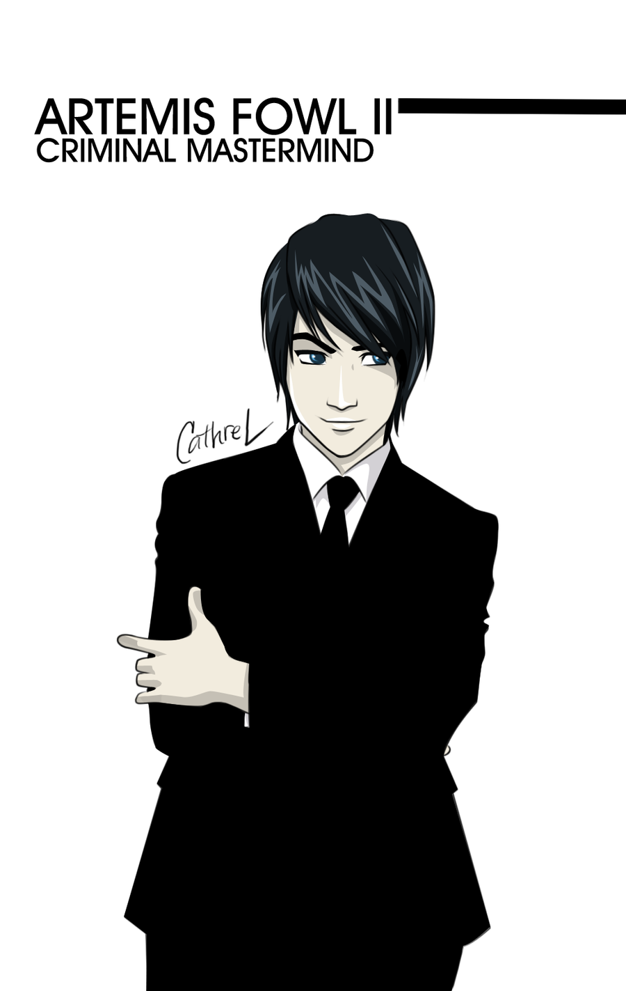 Artemis Fowl The Second by germanmissiles on DeviantArt