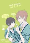 Free! Makoto and Haru