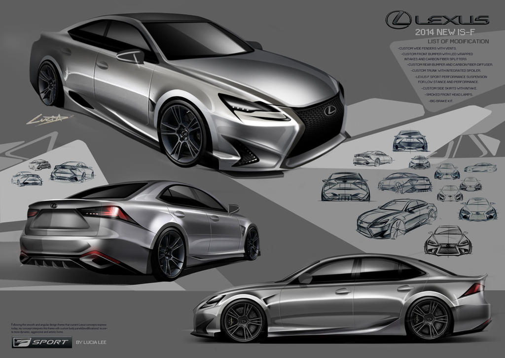 Lexus 2014 IS COMPETITION by moondoni