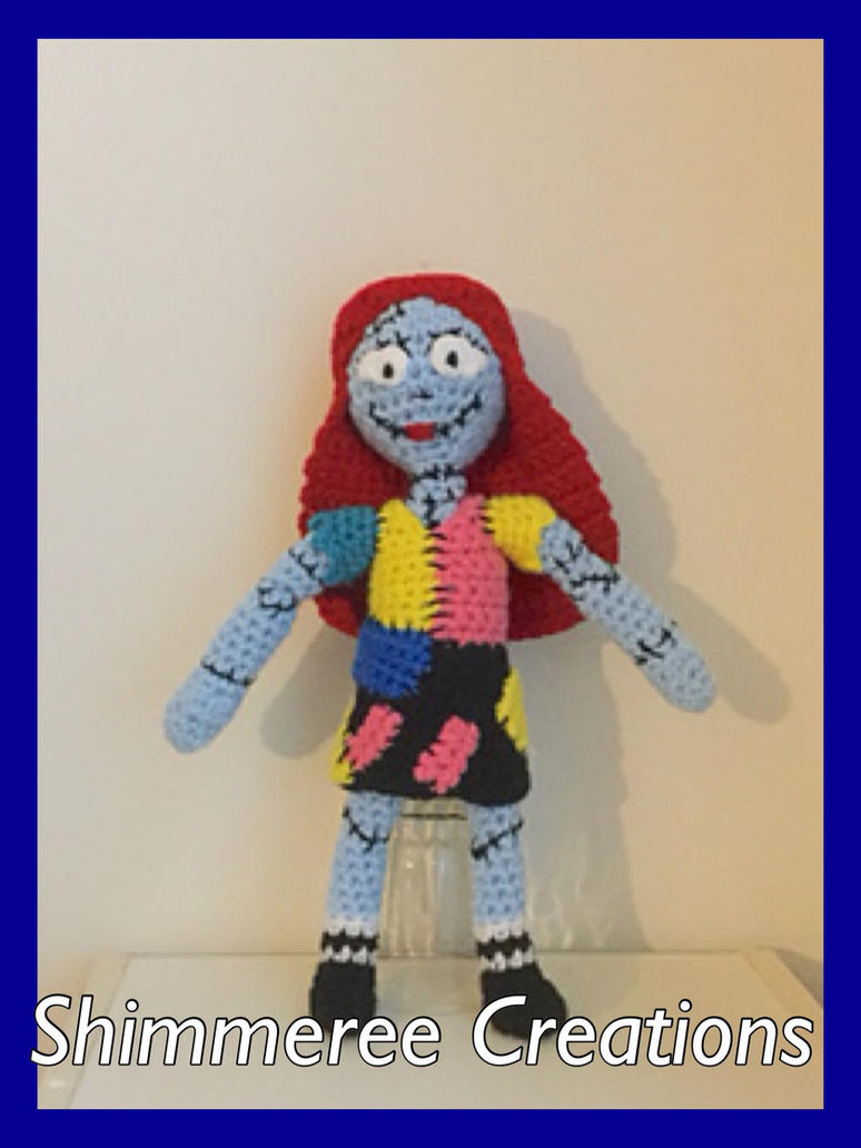 Crochet Nightmare Before Christmas Sally Doll by starbrite326 on ...