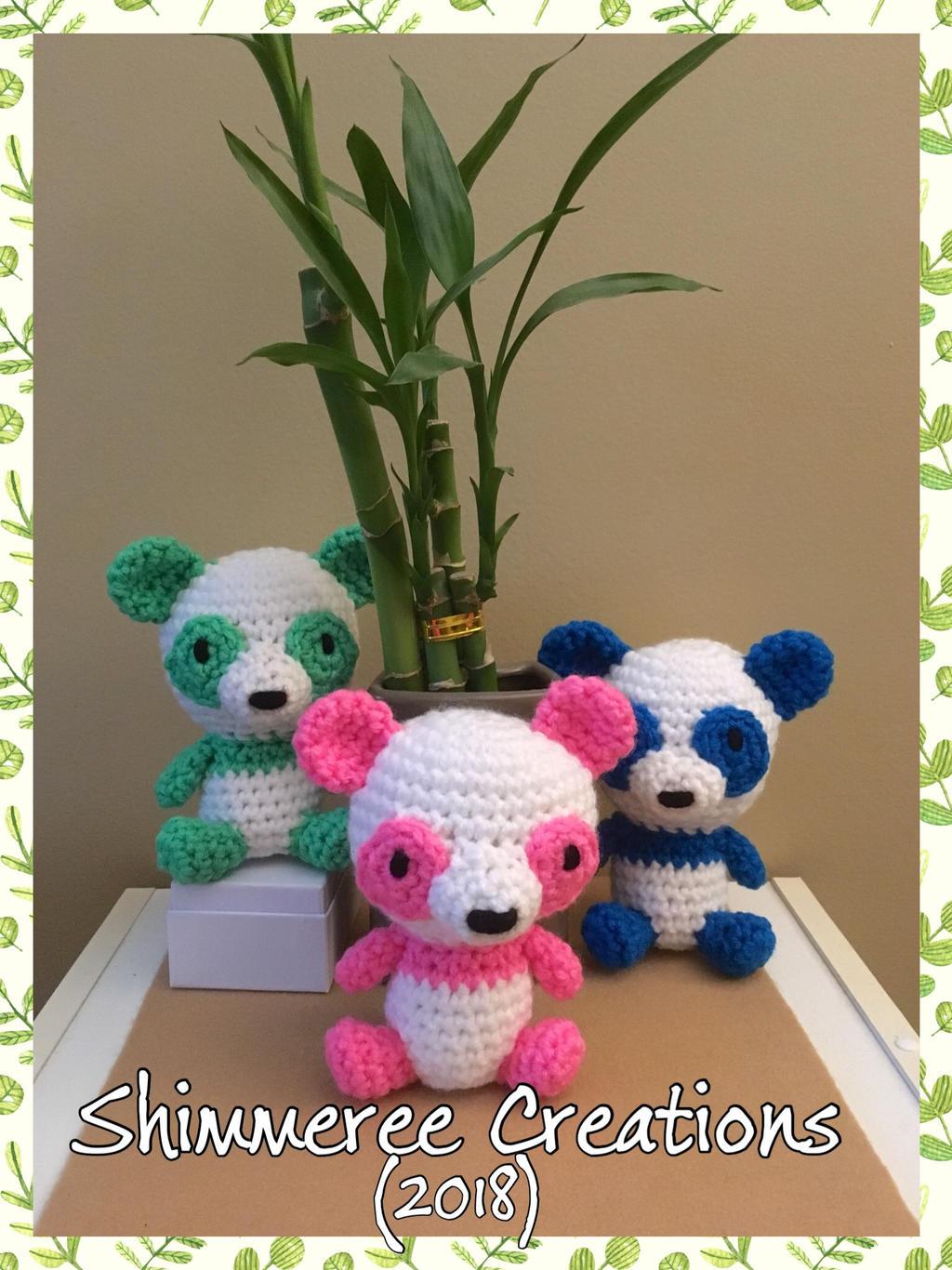 Panda bear-amigurumi panda-amigurumi bear-Cute Panda-Miniature ...   1366x1024