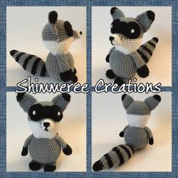 Amigurumi Raccoon by starbrite326