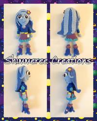 Amigurumi MLP Equestria Girls Trixie by starbrite326