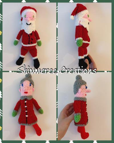 Amigurumi Santa Claus Crochet Pattern | Supergurumi | 501x400