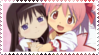 MadokaXHomura Stamp by Miki-Sakura