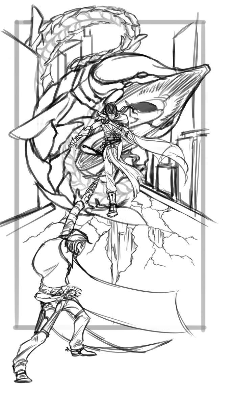 Leviathan Rises by SolusUmbra