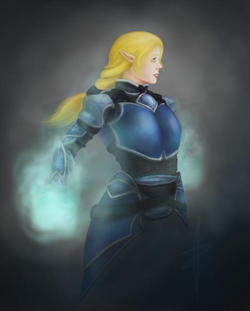 Commission :: Blue Magic by BazzlewithaK