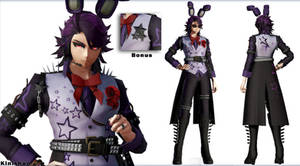 [MMD FNAF] (NO DL) Human Bonnie by Kinishan