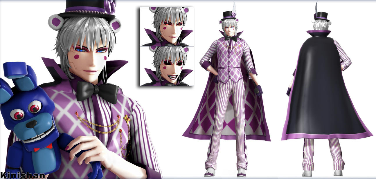 Mmd Funtime Freddy: [MMD FNAF] (NO DL) Human Funtime Freddy By Kinishan On