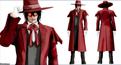 [MMD] (NO DL) Hellsing Alucard by Kinishan