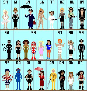 Pixelart People by GirlDee