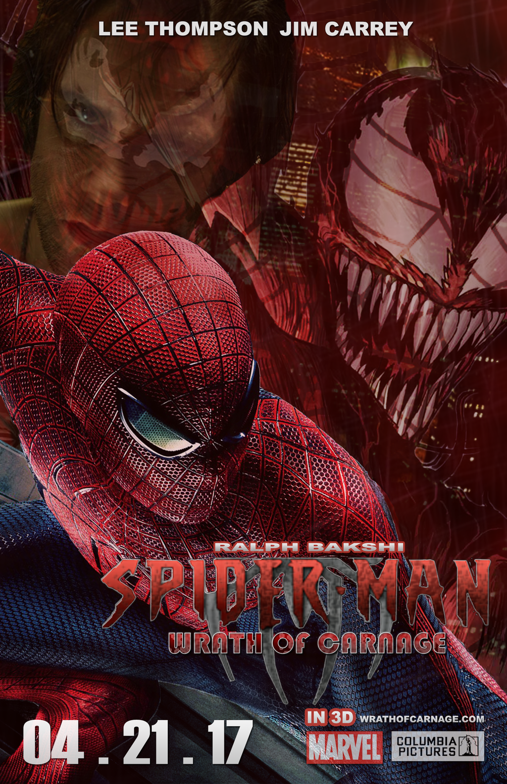 Spiderman 4 Poster Official