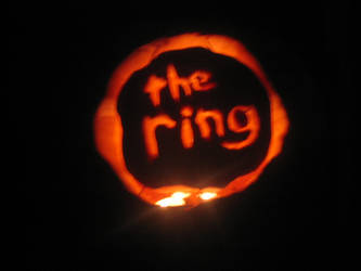 The Ring pumpkin