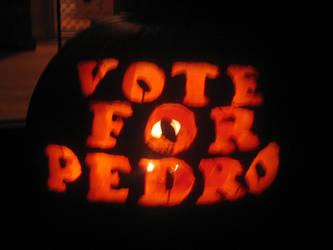 Vote For Pedro Pumpkin