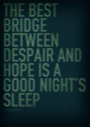 Good Night's Sleep by SimonHubbert