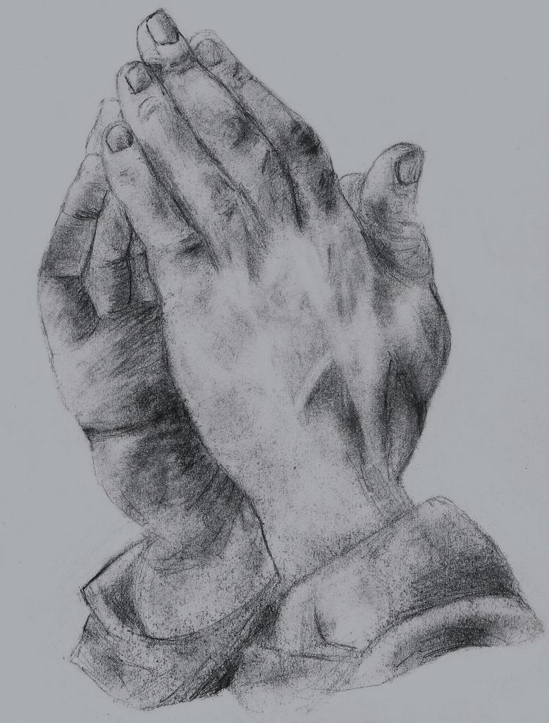 Praying Hands Sketch by KairiKeyblade27 on DeviantArt