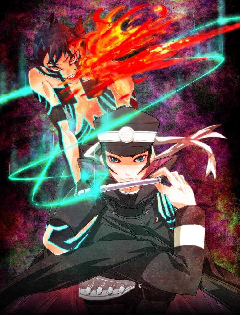 01_Megaten raidou by yaconoco
