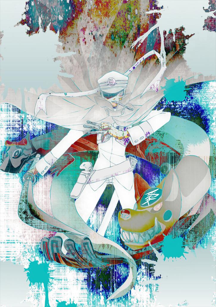 09_Megaten raidou by yaconoco