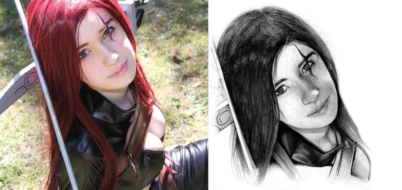 League of Legends - Katarina - Sara by Icebersky