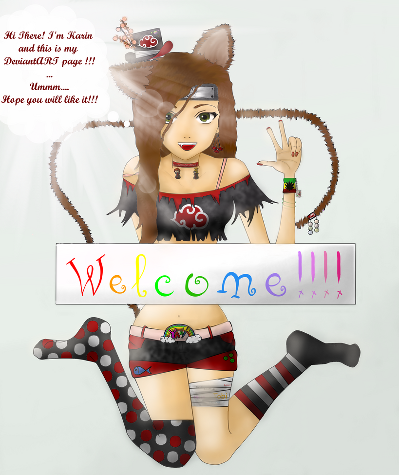 Welcome by LilCherryBlossom14