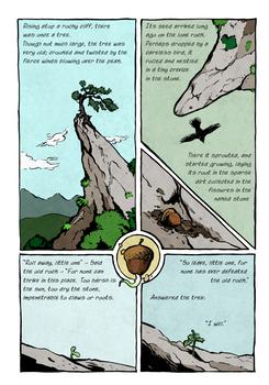The Stubborn Tree, page I