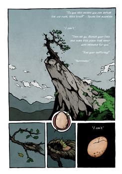 The Stubborn Tree, page III