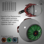 HypoVis Eye Replacement