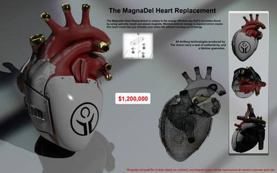The MagnaDel Heart Replacement by LandoComando