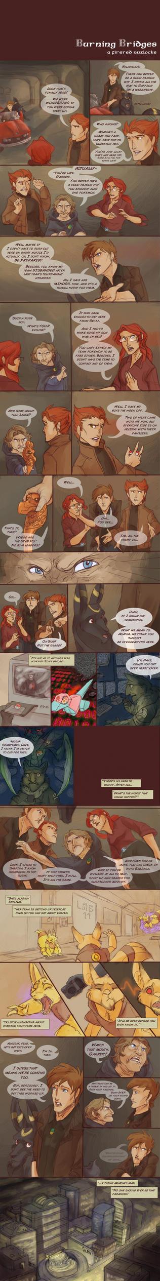 Burning Bridges Nuzlocke Page 10 by wanlingnic