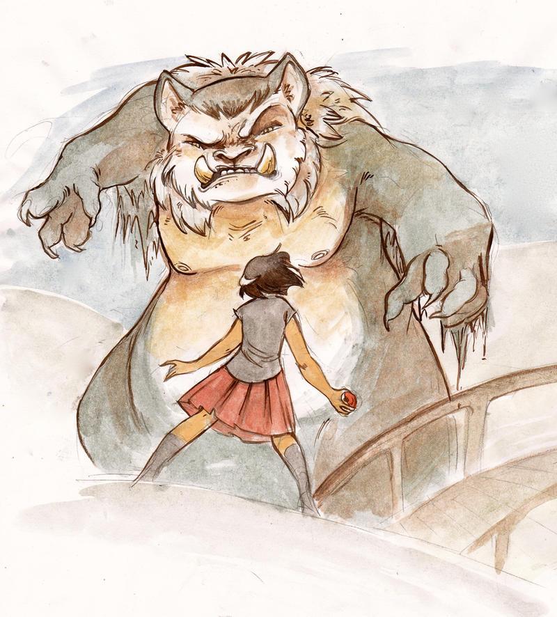 Troll Bridge by wanlingnic