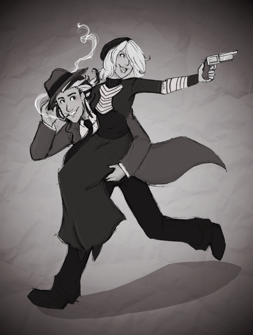 A Love Like Bonnie and Clyde by Sor-RAH on DeviantArt