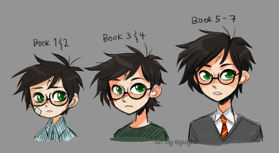 Harry Potter Age Timeline By Eyugho